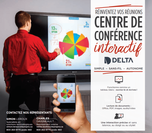 Centre de conférence interactif Delta