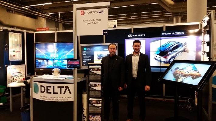 Solution Delta au Salon Stratégies PME de Montréal